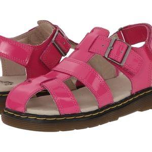 dr martens sailor fisherman sandal girls sz 1